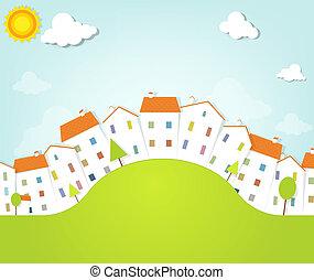 panorama town