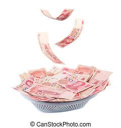 chinese money is raining down