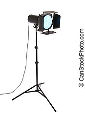 studio flash - photograph studio flash and filter with white...