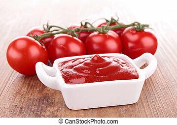 tomato sauce, ketchup