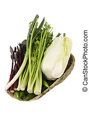 vegetables - A healthy diet, eat more green vegetables