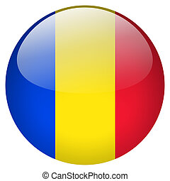 Romania Button