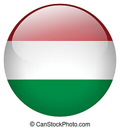 Hungary Button