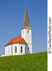 Typical small church in Bavaria