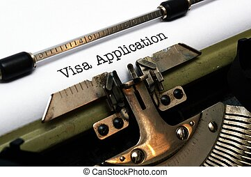 visa, aplicación