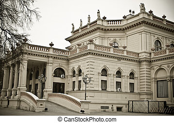 kursalon vienna - th kursalon in vienna was built between...