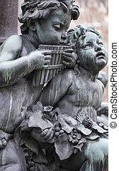 雕刻品, 音樂家