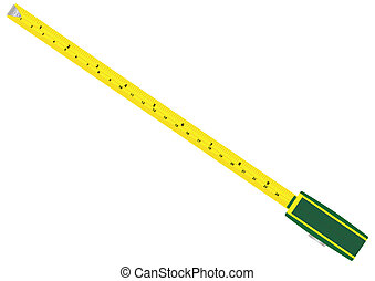 Tape Measure - A Tapemeasure with metric and imperial...