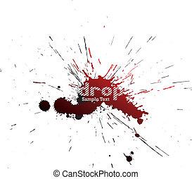 Blot. Vector illustration