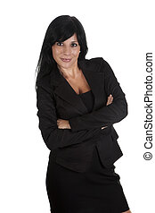 idly - a sexy businesswoman with executive suit
