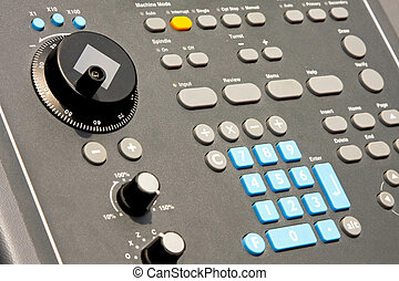 Control panel - Electronic control panel with bunch of...
