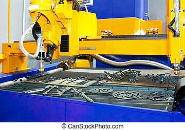 Metal sand cutter