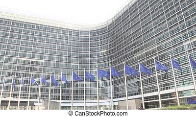 European Flags waving slow motion - European Flags waving...