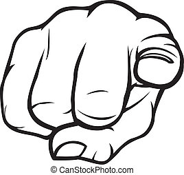 Hand pointing Stock Illustrations. 62,197 Hand pointing clip art ...