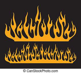 burn flame