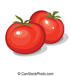 tomatoes - Red fresh tomatoes