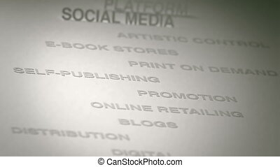 Self-Publishing Concept Animation - Self-Publishing related...