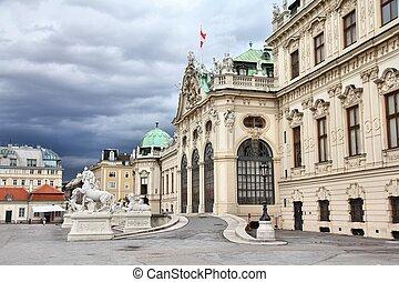 Belvedere, Vienna - Vienna, Austria - Belvedere Palace...