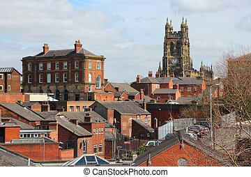 Stockport in North West England (UK). Part of Greater...