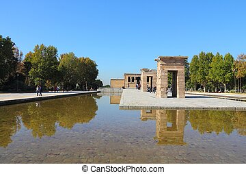 Temple of Debod - Madrid, Spain -Temple of Debod, Egyptian...