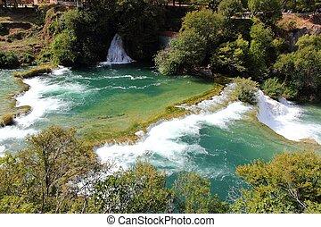Croatia - Krka National Park in Dalmatia. Beautiful...