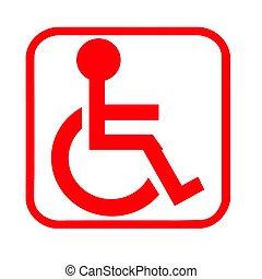 wheel chair logo