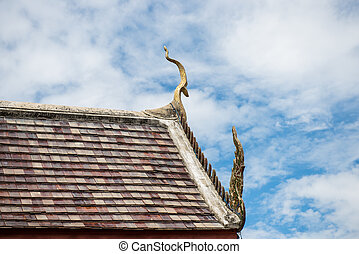 The roof of Buddism