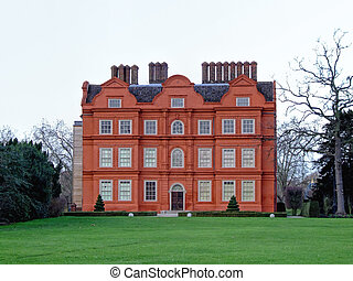 Kew Palace - British Royal Palace in Kew Gardens Near London