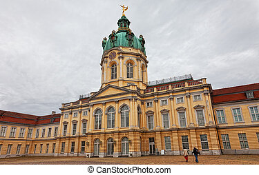 Schloss charlottenburg(char lottenburg palace) in Berlin,...