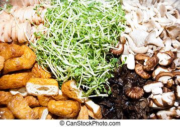 Mixed vegtables - mixed vegtables ready to serve - cook...