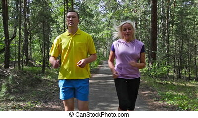 Healthy lifestyle - Couple leading a healthy lifestyle...