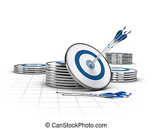 High Potential Business Concept - Conceptual image for...