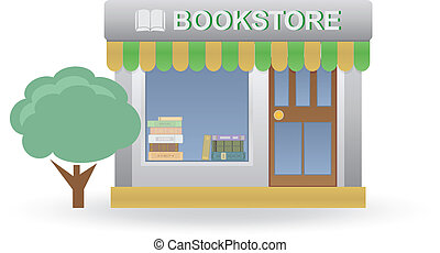 Bookstore. Small shop. For you design