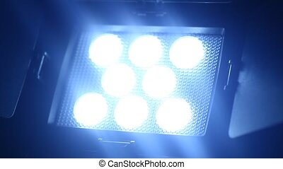 Video Light - Close up of a LED Video Light