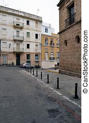 Cruces de calles - Cruce de calles en C?diz