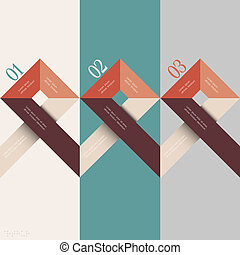 Minimal infographics design Vector illustration