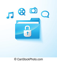 secure multimedia folder