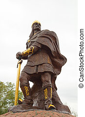 prince Mal sculpture - hero of russian epic - prince Mal...
