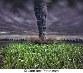 grande, tornado