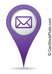 purple location mail