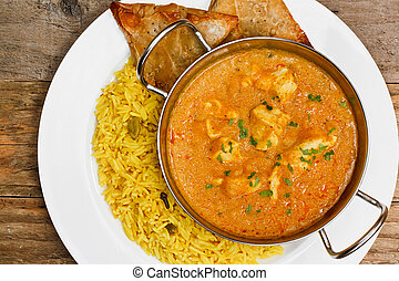 Chicken korma balti dish - Chicken Korma a popular indian...