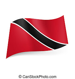 State flag of Trinidad and Tobago. - National flag of...