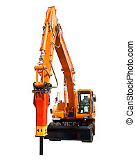 Hydraulic hammer - Very powerful hydraulic hammer for...