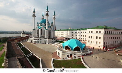 kul sharif mosque in kazan kremlin russia
