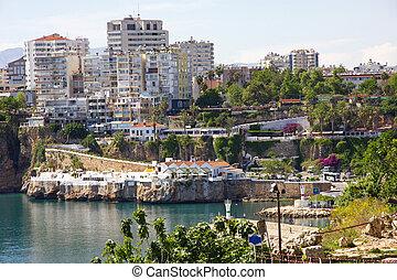 Turkey. Antalya town.