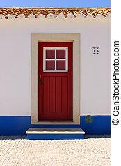 Door, Porto Covo, Portugal