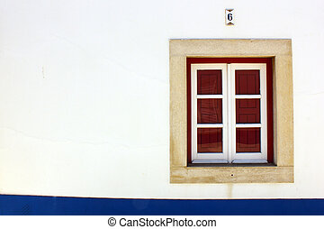Window, Porto Covo, Portugal