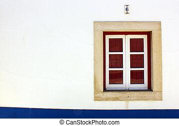 Window, Porto Covo, Portugal