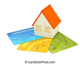 Credit cards - House and credit cards