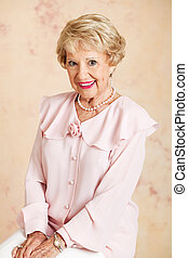 Portrait - Beautiful Senior Woman